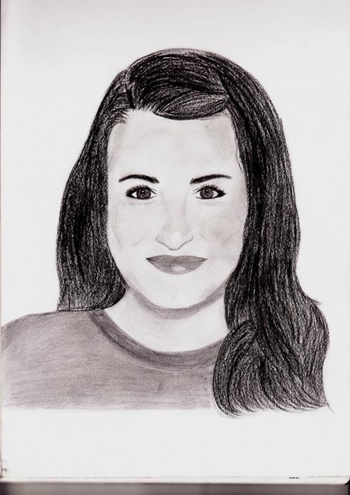 Lea Michele by Marylou